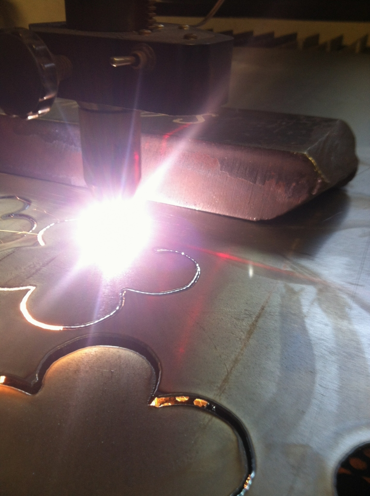 CNC plasma cutting-2