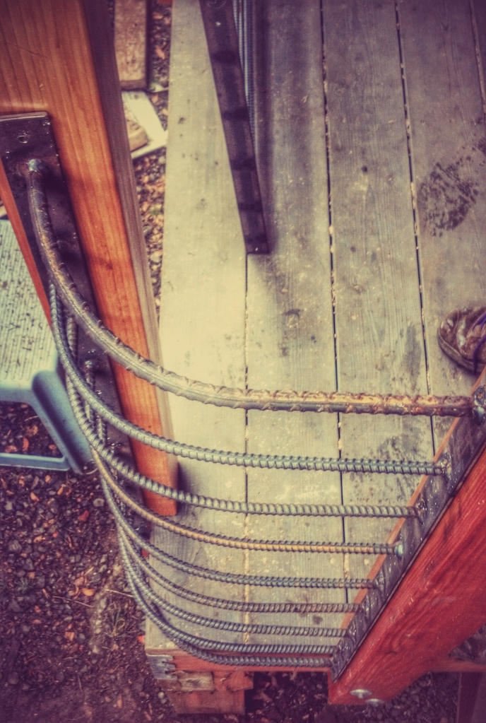 corner rail