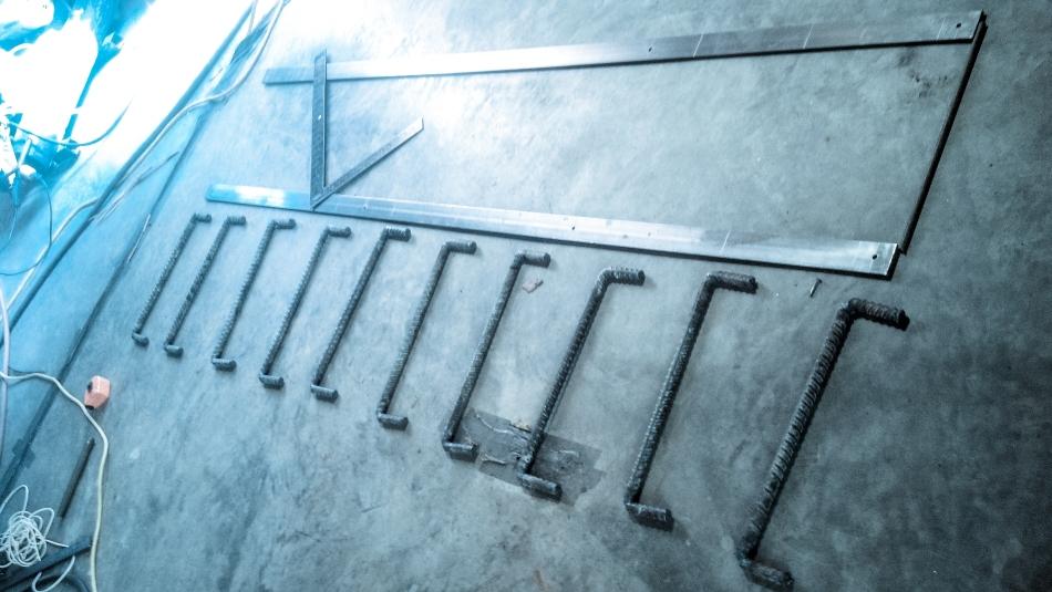 ladder fitup
