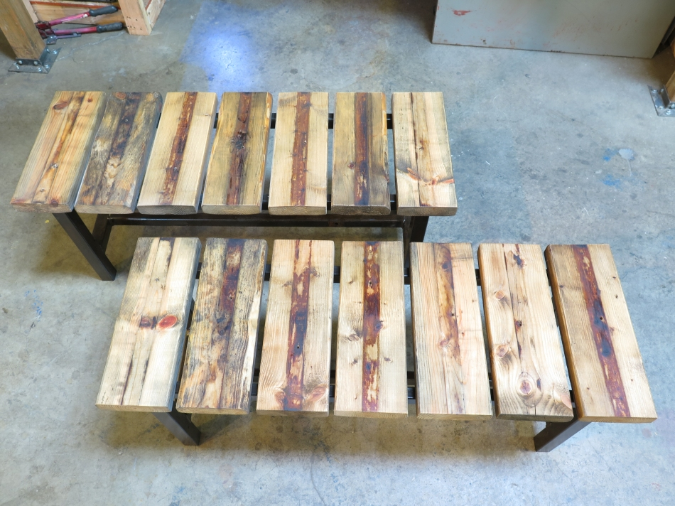 DRD reclaimed material bench set-13