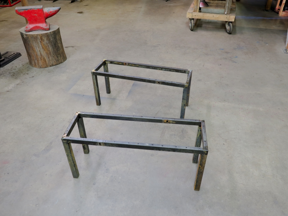 DRD reclaimed material bench set-4