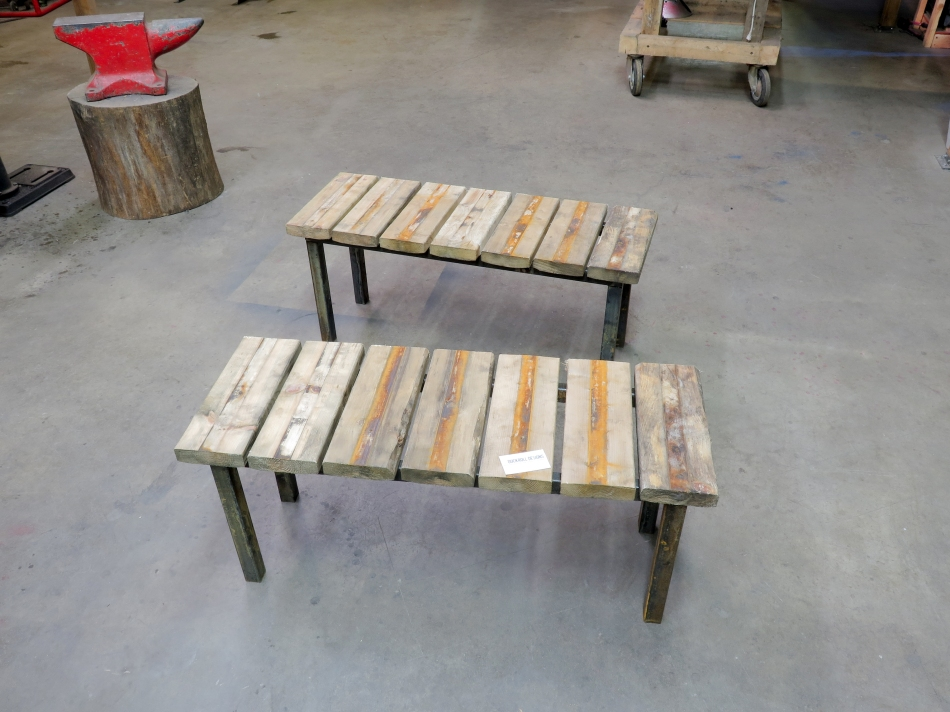 DRD reclaimed material bench set-5